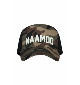 Custom camo (glow in the dark) truckercap